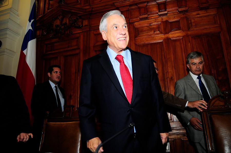 """Piñera: """"Mi mujer encabezará la causa de los pensionados en Chile"""""""