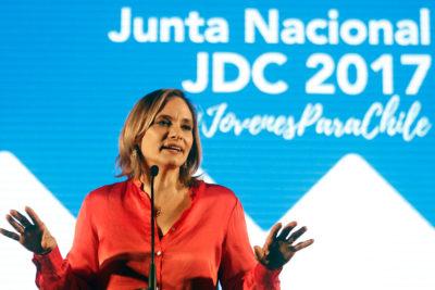 """Carolina Goic no quiere primarias en la Nueva Mayoría: """"Estoy convencida de ir a primera vuelta"""""""