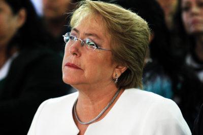"""Bachelet lamenta renuncia de Lagos: """"Es su decisión y tenemos que acatarla y respetarla"""""""