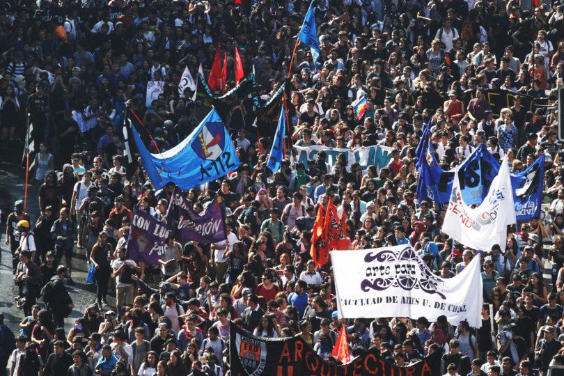 Confech ratifica marcha nacional de los estudiantes para el día de la Cuenta Pública