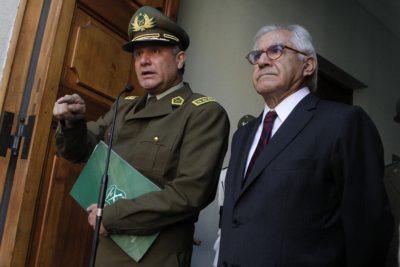 """Fraude en Carabineros: Gobierno anuncia reestructuración administrativa y legal """"sin precedentes"""""""
