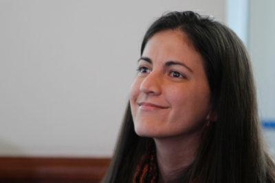 """Rosa María Payá visita Chile: """"El PC tiene el desafío de comportarse como un demócrata"""""""