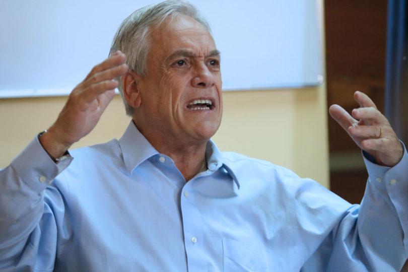 """Sebastián Piñera: """"En esta elección presidencial, la Nueva Mayoría significa más de lo mismo o peor de lo mismo"""""""