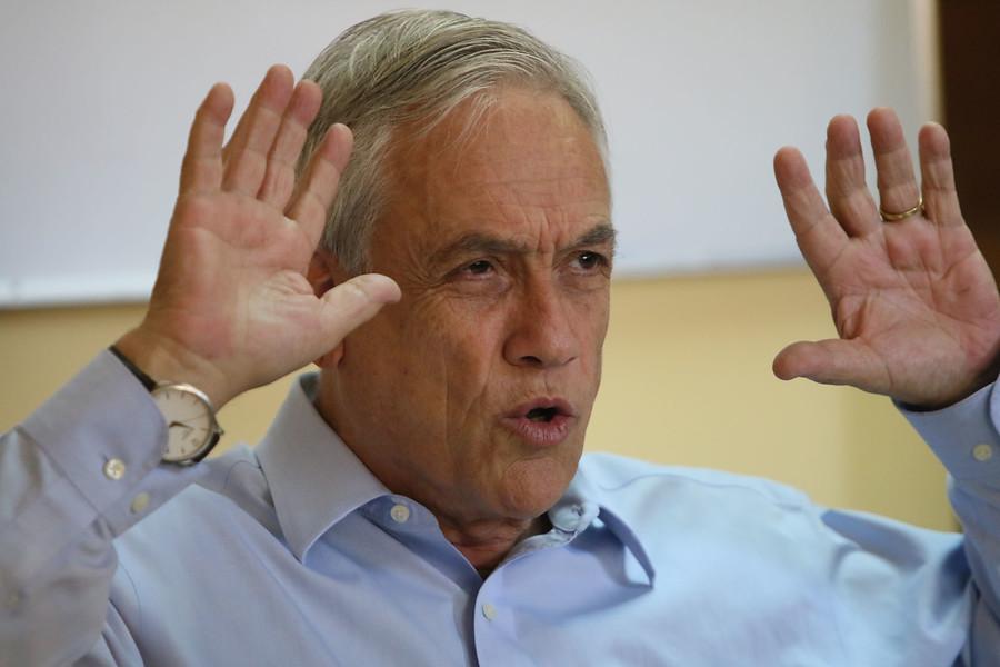 """Piñera aún no explica fideicomiso: """"Voy a informar en el momento oportuno"""""""