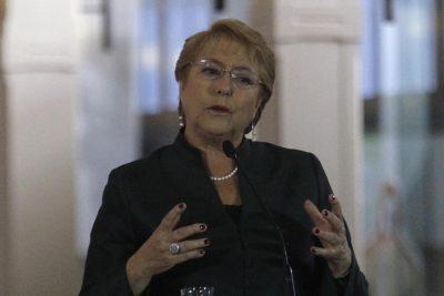 """Bachelet realiza claro llamado a la DC: """"No hay progreso sin una sólida alianza entre el centro y la izquierda"""""""