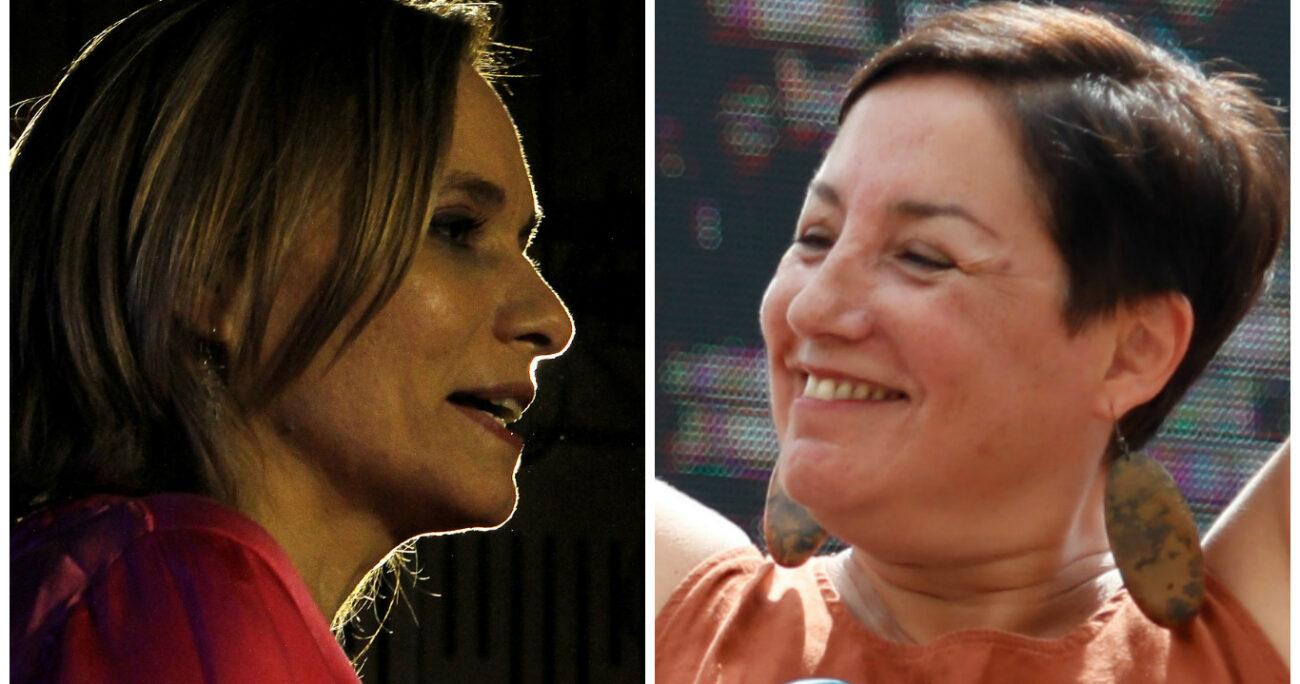 Sánchez y Goic, las candidatas que desordenaron el tablero
