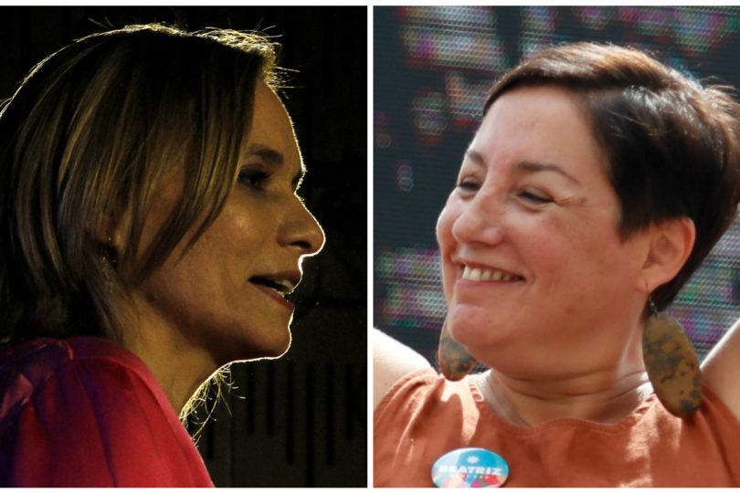 Beatriz Sánchez y Carolina Goic, frente a frente: las candidatas que desordenaron el tablero