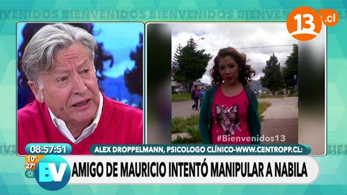 """Al jefe no le gustó: Luksic rechazó aparición de informe ginecológico de Nabila en """"Bienvenidos"""""""