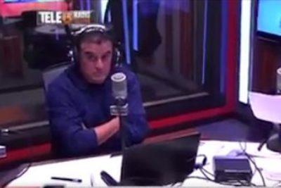 VIDEO | Nervios de acero: así reaccionó Ramón Ulloa con el temblor 7,1 en Valparaíso