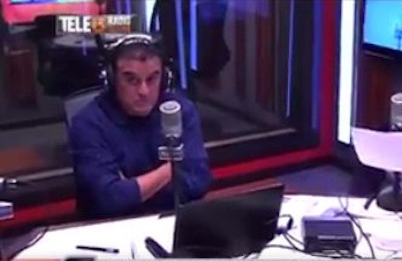 VIDEO | Nervios de acero: así reaccionó Ramón Ulloa con el temblor 7,1