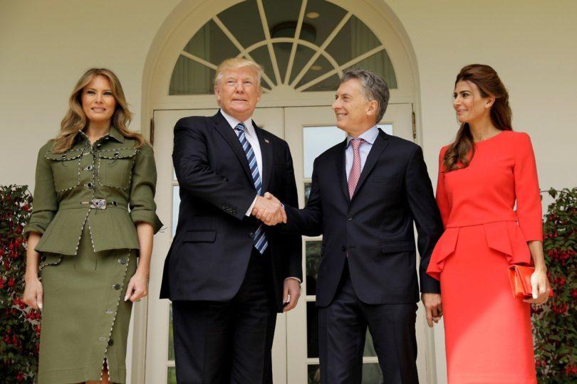 """Donald Trump: """"Macri es un gran Presidente, tenemos una gran relación con Argentina"""""""
