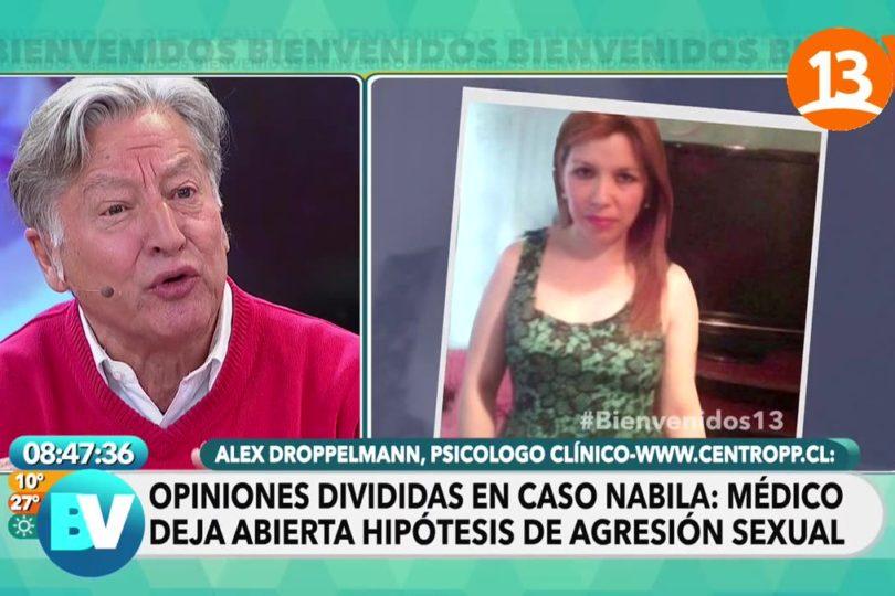 Canal 13 publica declaración de ginecólogo que examinó a Nabila Rifo y desata dura polémica