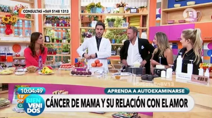 Doctor de Canal 13 Ricardo Soto lo hizo de nuevo