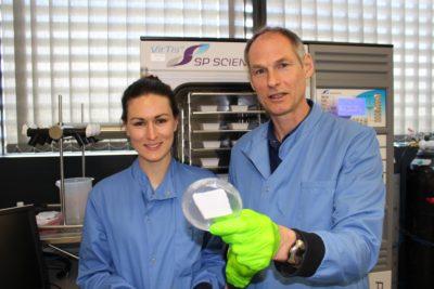Universidad de Oxford y centro chileno inician investigación de células madre para heridas crónicas
