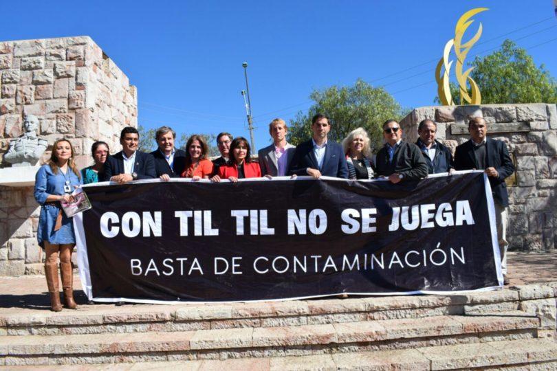Alcaldes respaldan a Til Til contra la instalación de relleno sanitario