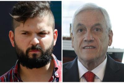 """Piñera advierte que """"evaluará"""" los resultados de este censo y Boric le responde en dos palabras"""