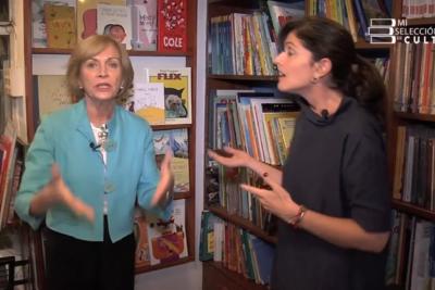 """VIDEO   A Matthei se le arrancó el """"Tía Evelyn"""" por pregunta sobre la Feria del Libro Infantil"""