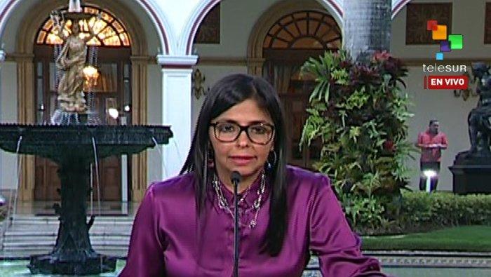Canciller de Venezuela anuncia inicio de proceso para retirarse de la OEA