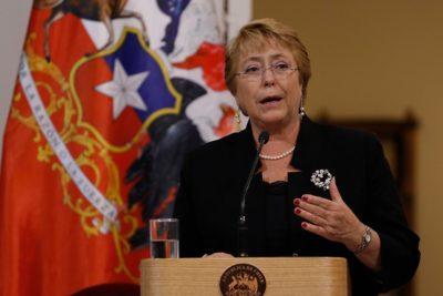 """Presidenta Bachelet reitera llamado a no """"desandar el camino"""" de la gratuidad en inauguración de U de Aysén"""