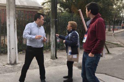 FOTO |Así comenzó el trabajo de censista de la Presidenta Michelle Bachelet