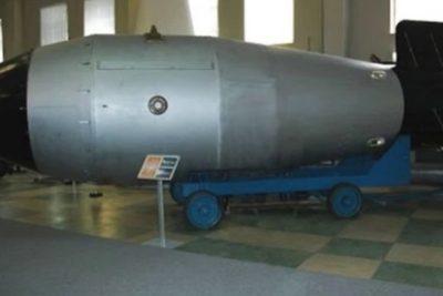 """La respuesta de Rusia a EE.UU.: asegura tener """"el padre de todas las bombas"""""""