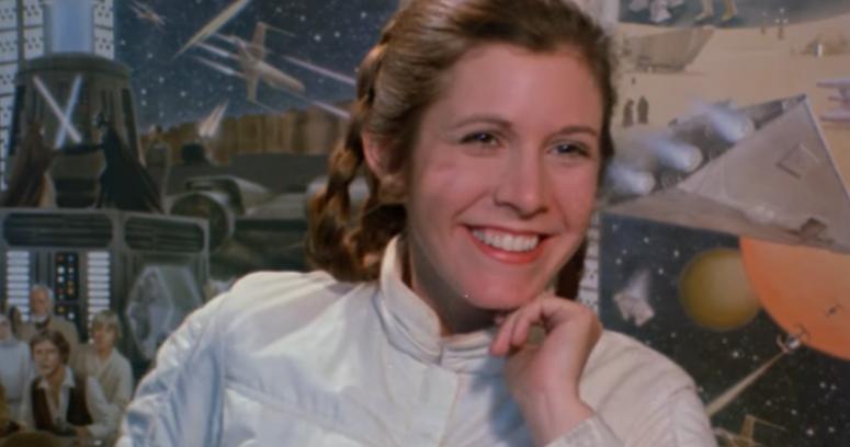 VIDEO | El emocionante homenaje de Star Wars a la inmortal Carrie Fisher