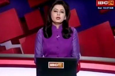 VIDEO  Conductora de noticias se enteró en vivo y en directo de la muerte de su esposo