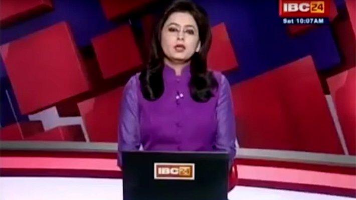 VIDEO |Conductora de noticias se enteró en vivo y en directo de la muerte de su esposo