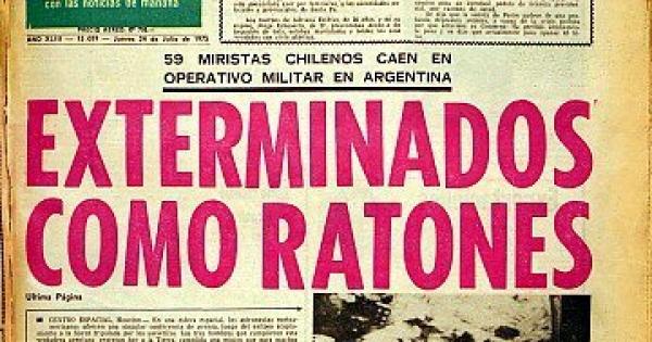 FOTOS   Cinco portadas de El Mercurio que marcaron la administración de Agustín Edwards