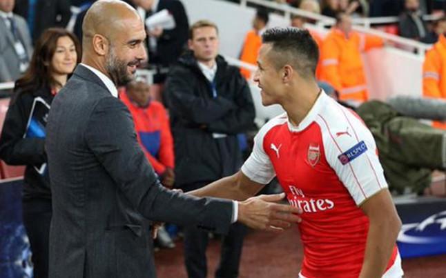 Los elogios que le dedicó Pep Guardiola a Alexis Sánchez: lo comparó con Lio Messi