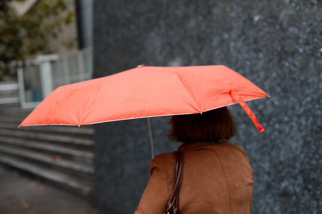 Dirección Meteorológica pronostica lluvias en Santiago durante esta tarde y noche