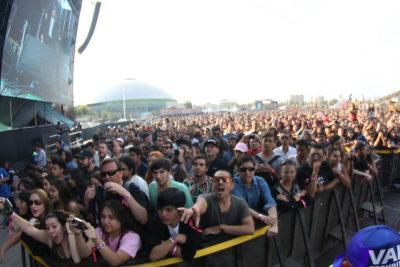 FOTO |La imagen que evidenció la masiva asistencia que tuvo Lollapalooza Chile en su primer día