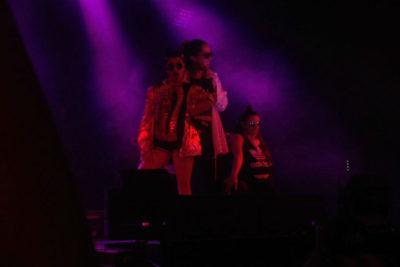 Mariel Mariel desclasifica la trastienda de su show junto a Natalia Valdebenito en Lollapalooza