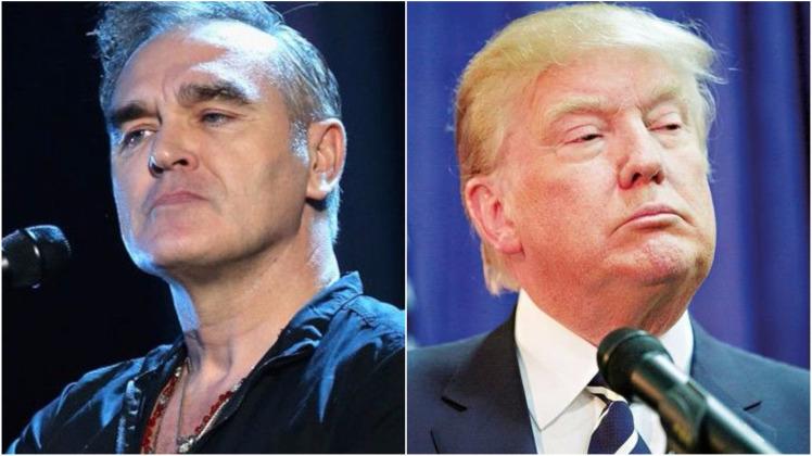 La irónica dedicatoria de Morrisey a Donald Trump que miles de mexicanos aplaudieron