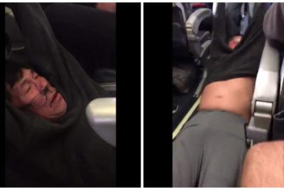 VIDEOS |Escándalo en EE.UU.: United baja a la fuerza a doctor por sobrevender el vuelo