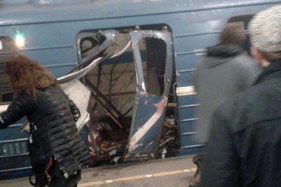 FOTO Y VIDEOS | Explosión en Metro de San Petersburgo: tres estaciones evacuadas y al menos 10 muertos