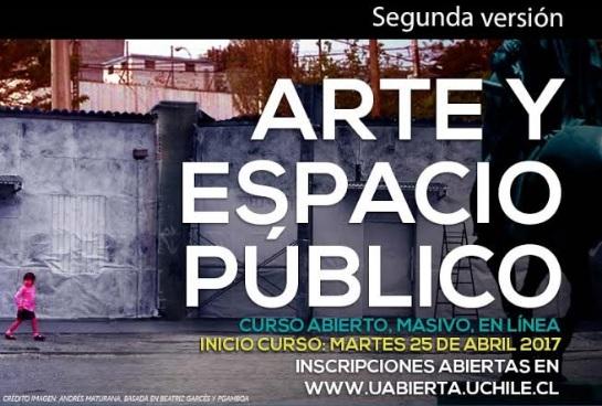 Comienza segunda versión de curso online sobre arte y espacio público