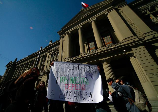 Corte Suprema acoge recurso de alumno expulsado de la UAH por participar en movilización estudiantil