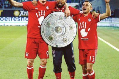 El récord que alcanzó Arturo Vidal tras adjudicarse un nuevo título con el Bayern Münich