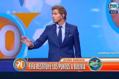 VIDEOS | Pollo Vignolo desatado: disparó contra Pinilla, Chile y pidió jugar otra vez con Bolivia