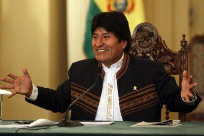 """Evo Morales: """"A lo mejor hay muchos celos (de Chile) por el crecimiento económico de Bolivia"""""""