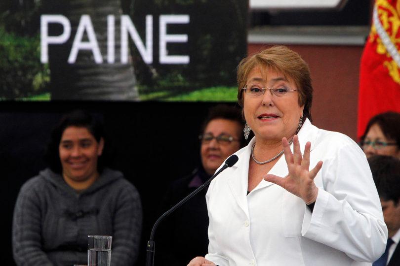 Poder Judicial aclara rumores sobre querella por ejercicio ilegal de la profesión contra Bachelet