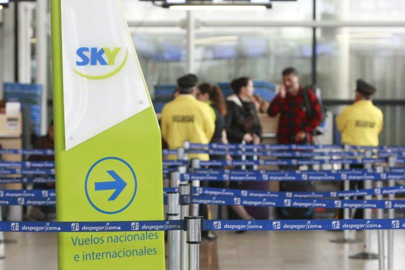 La lista de pasajes por 1.900 pesos que Sky lanzó para varias ciudades de Chile