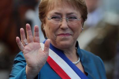Forbes: Bachelet es la cuarta mujer más poderosa de la política mundial
