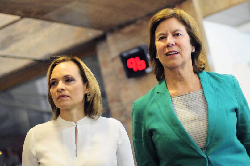 """Mariana Aylwin y la DC: """"No estamos dentro de la NM, pero sí dentro del Gobierno"""""""
