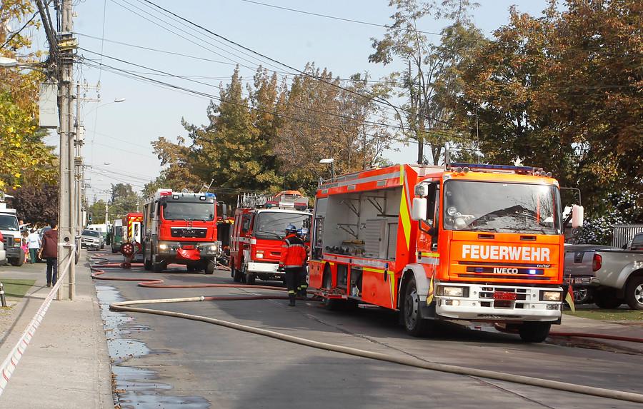 Bomberos de Coronel cobraba reposición de mangueras tras incendio