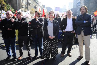 FOTOS | Las imágenes que dejaron las marchas del Día del Trabajador