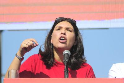 Bárbara Figueroa fue reelecta como presidenta de la CUT tras lograr primera mayoría en elecciones