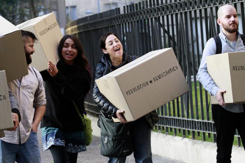 Servel se pronunciará el lunes para ratificar las firmas de Revolución Democrática