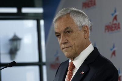 """Piñera y fideicomiso: """"Ningún candidato ni ningún presidente ha tomado las decisiones que yo he tomado"""""""